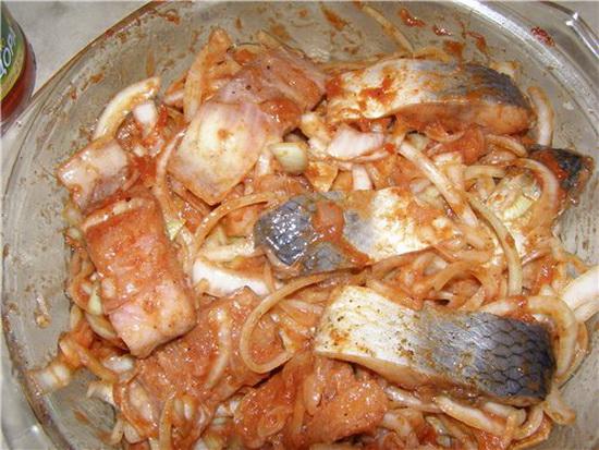 селёдка рецепт по-корейски