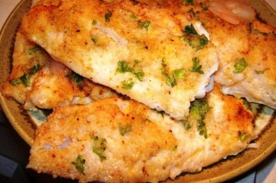 как вкусно приготовить треску в духовке в фольге