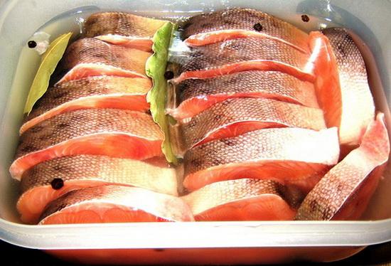 Засолка красной рыбы в домашних 44
