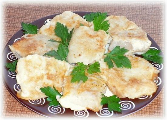 Жареный на сковороде минтай - рецепты приготовления с фото 2