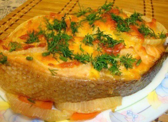 Минтай в духовке с морковью и луком - готовим рыбу вкусно 4