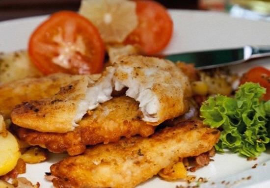 Как приготовить минтай в сметане на сковороде - готовим рыбу со сметаной 1