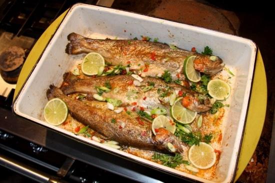 Речная форель в духовке — готовим стейки 2
