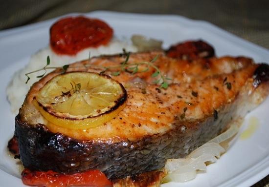 Рыба кета в духовке - новые рецепты с фото 1