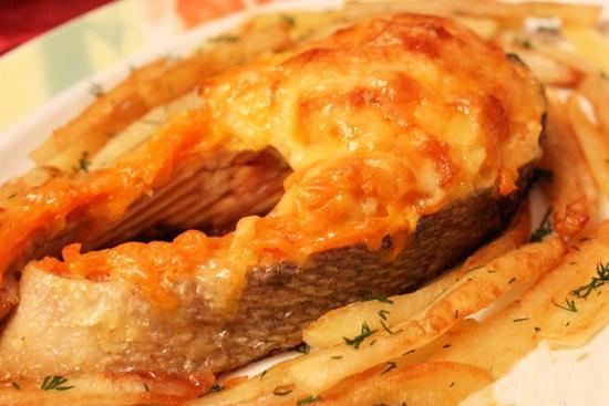 Рыба кета в духовке - новые рецепты с фото 2