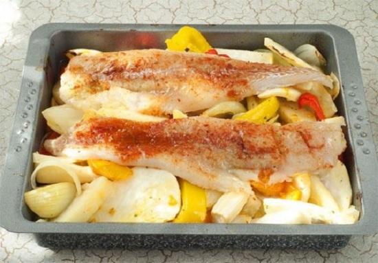 Рыба треска в духовке - новые рецепты с фото 1
