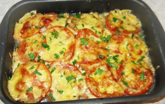 треска в духовке рецепты с фото с овощами