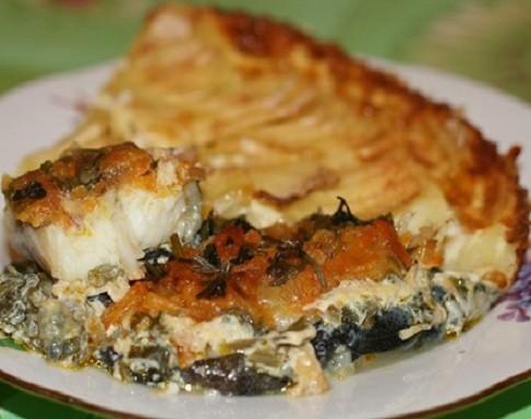 Рыба зубатка синяя — рецепты приготовления в духовке в фольге с картошкой