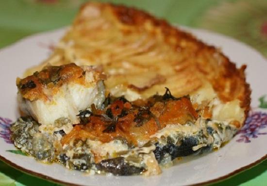 Рыба зубатка синяя - рецепты приготовления в духовке в фольге с картошкой 1