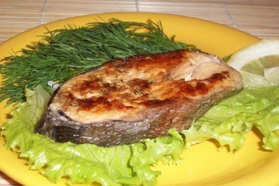 зубатка синяя стейк как приготовить на сковороде