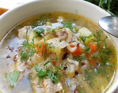 Варим рыбный суп из горбуши консервированной — готовим из консервы