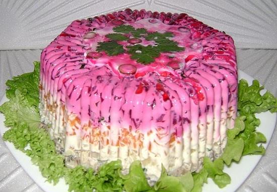 Салат селедка под шубой - рецепт с фото 1