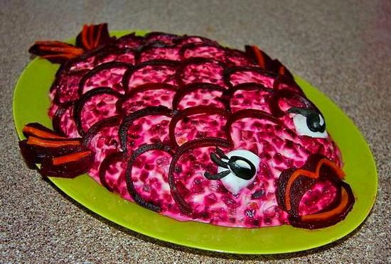 Салат селедка под шубой - рецепт с фото 2