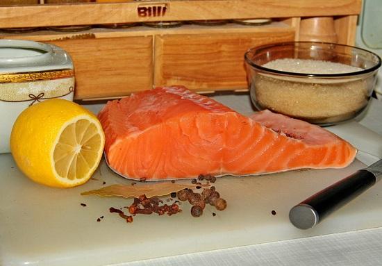 Семга слабосоленая - рецепт засолки в рассоле 1
