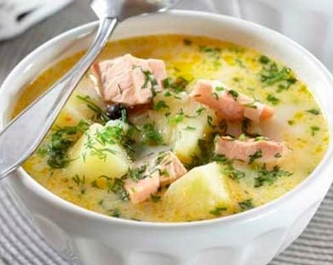 Суп из горбуши — пошаговый рецепт с фото