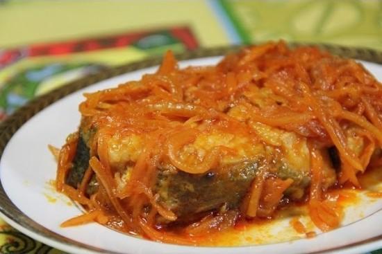 Пикша под маринадом - классический рецепт1