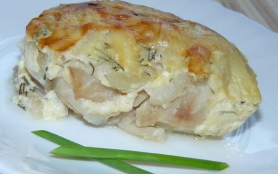 Пикша запеченная в духовке - рецепт и фото1