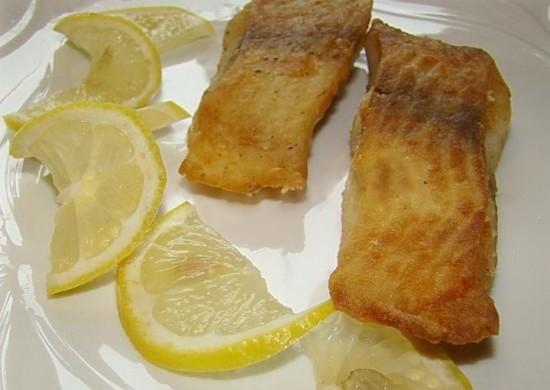 Пикша жареная - рецепт с фото3