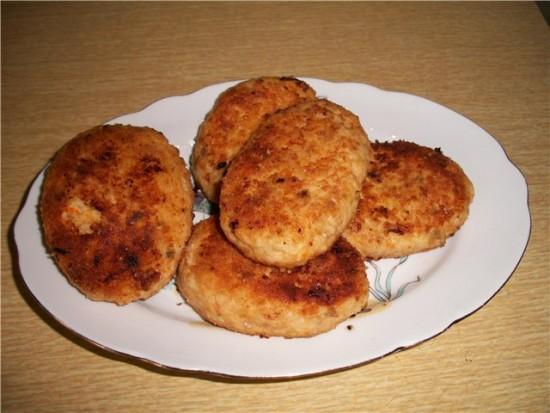 Рыбные котлеты из пикши - простой и вкусный рецепт2