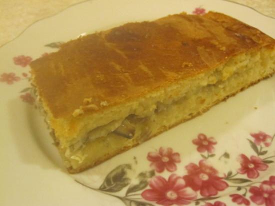 . Пирог с мойвой и луком - пошаговый рецепт с фото4