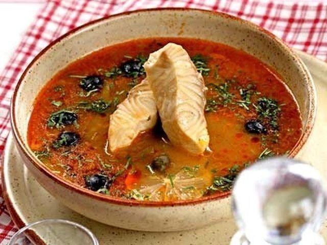 рыбная солянка рецепт приготовления 1