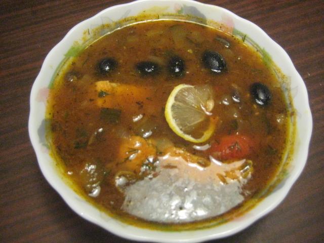 рыбная солянка рецепт приготовления 3