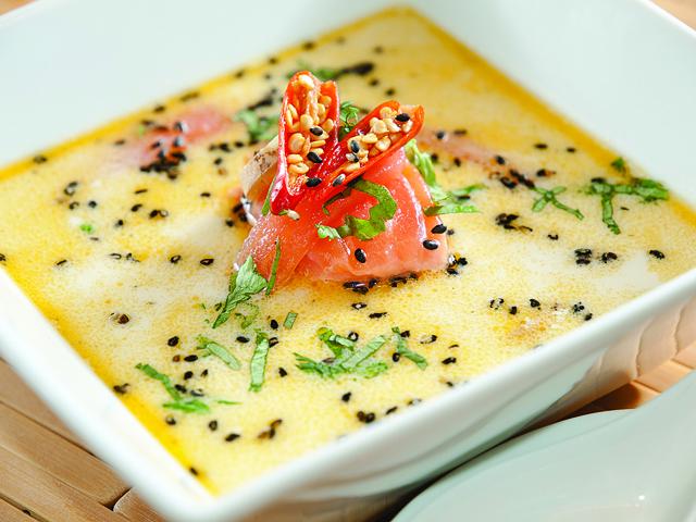 сливочный суп с семгой рецепт с фото 1