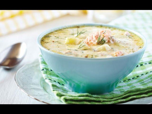 сливочный суп с семгой рецепт с фото 5